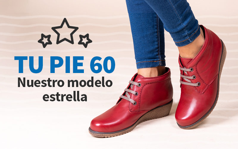 TUPIE 60 calzado confort preferido por nuestros clientes