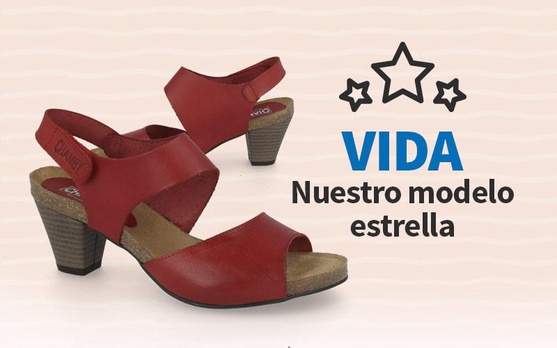 CHAMBY VIDA calzado confort preferido por nuestros clientes